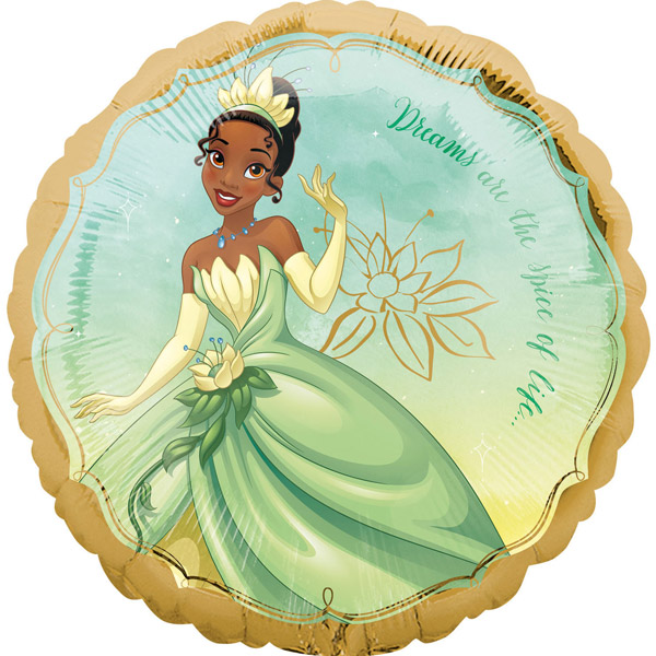Balon folija Tiana Disney Princess