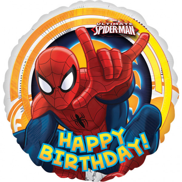 Balon folija Spiderman