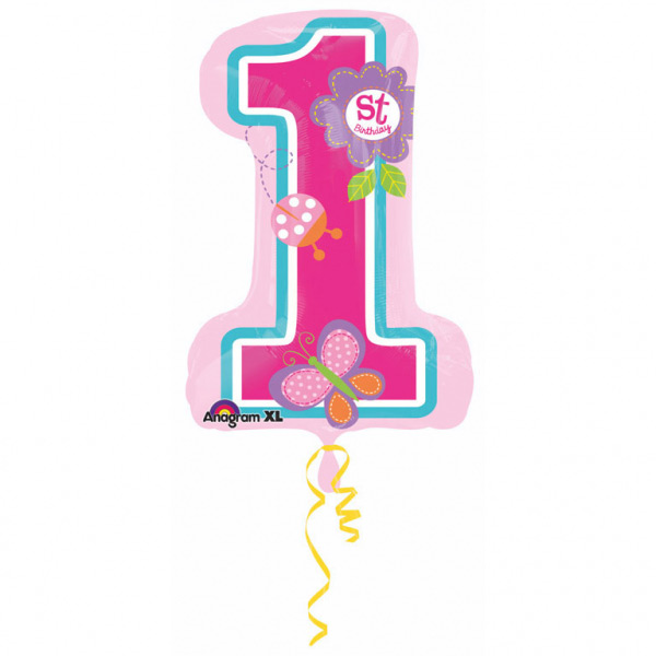 Balon folija SuperShape Sweet Birthday